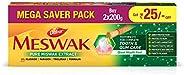 Dabur Meswak: India's No-1 Fluoride Free Toothpaste with Antibacterial, Anti Inflammatory & Astringent