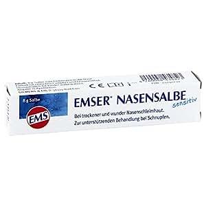 EMSER Nasensalbe Sensitiv 8 g Nasensalbe