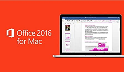 Microsoft Office 2016 Home and Business for Mac Machines ESD