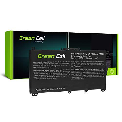 Green Cell® Batería para HP 15-DB1005NO 15-DB1005NS 15-DB1005NT 15-DB1005NU 15-DB1005NV Portátil (3550mAh 11.55V Negro)