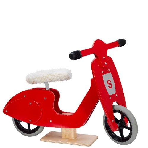 Skipper Vespa-Laufrad Red Scooter