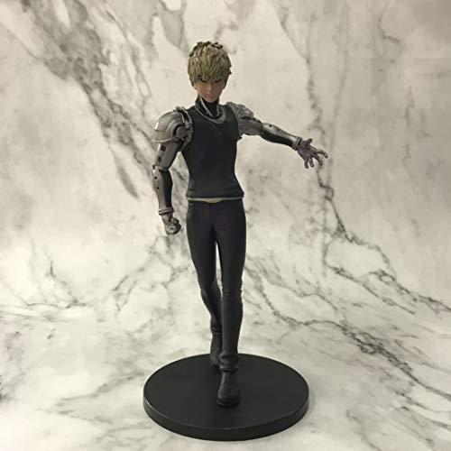 Yvonnezhang Japan Anime One Punch Man Charakter Genos Super DXF Action Figure PVC Modell Spielzeug