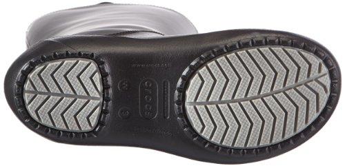 Crocs Rainfloe, Bottes de pluie - Femme Noir (Black/Black)