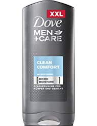 Dove Men Plus Care Clean Comfort Body and Face Wash, 400 ml