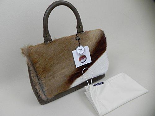 SPRINGBOCKFELL - Tasche mit Leder