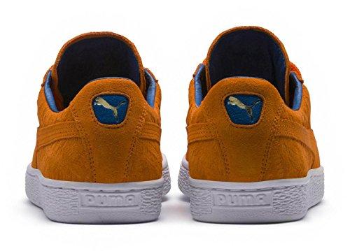 Classiques Vibrant Daim Hommes Orange Puma En Chaussures Pour aYtwxqSpq