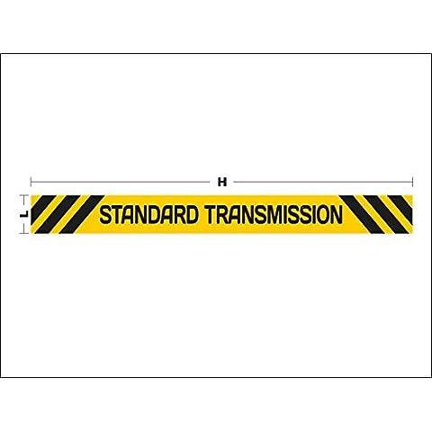 N3130 Precaución Estándar Transmisión pegatina