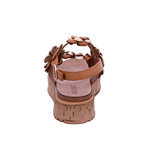 Inuovo 7118-coconut, Sandali donna Marrone