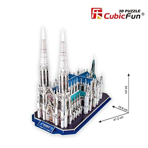 CubicFun St.Patrick's Cathedral (New York) 3D Puzzle