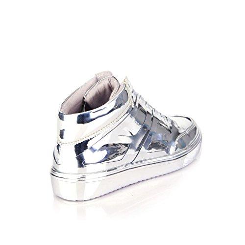 Steve Madden , Damen Sneaker * Silber