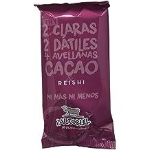 Barrita Energética Paleo 100% natural - Alta en proteínas - Avellanas, Cacao y Reishi
