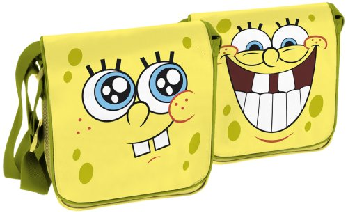 ergartentasche mit Wendeüberschlag (Spongebob Geschenk-taschen)