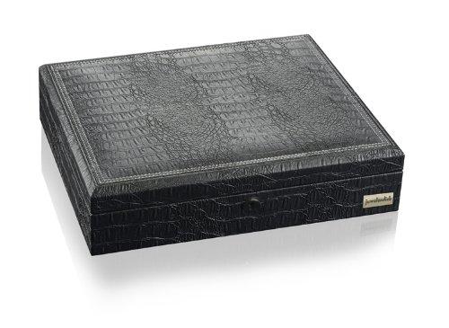 Juwelendieb Louis Schwarz - Box zur Uhren- & Schmuckaufbewahrung (Rolex Box)