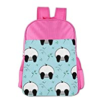 Clown Panda Pattern Children School Backpack Carry Bag for Teens Boys Girl