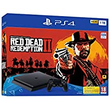 PlayStation 4 (PS4) - Consola de 1 TB + Red Dead Redemption II