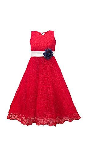 My Lil Princess Baby Girls Birthday Party wear Frock Dress_Ocean Purple Gown_Net...