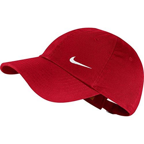 Nike W'S Swoosh H86 - Blue Cappello, University Red/White, Taglia Unica