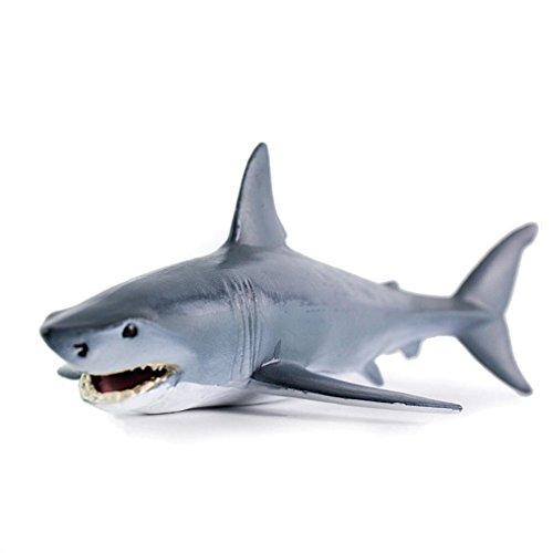 Omiky® Erziehungswissenschaft Spielzeug Simulierte Shark Modell Kinder Bad Spielzeug (B)