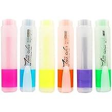Plumas de colores Marcadores Marcadores Marcadores transparentes 1 paquete para cada color fluorescente