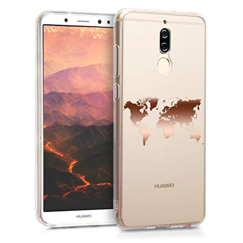 kwmobile Huawei Mate 10 Lite Hülle - Handyhülle für Huawei Mate 10 Lite - Handy Case in Rosegold Transparent