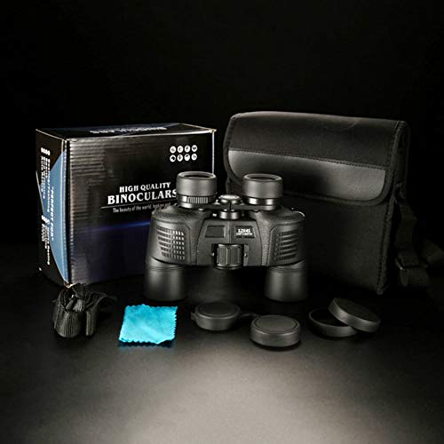 12x45 Binoculars Waterproof Hd Night Vision Non-infrared Nitrogen-filled  black