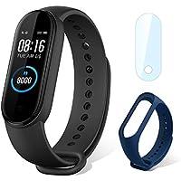 """Xiaomi mi Band 5 Smart Fitness Bracelet Cardiofréquencemètre, Trackers d'activité, étanche de Sport 5ATM Bluetooth 5.0 Couleur AMOLED Montre Connectée, 1.1"""" Smartwatch pour iOS Android"""