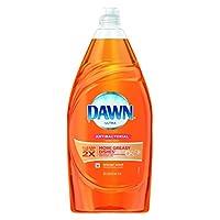 Dawn 91695CT Liquid Dish Detergent Antibacterial Orange Scent 34.2 oz Bottle Case of 8