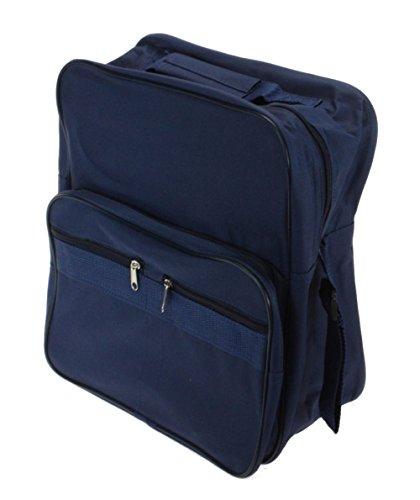 Rollstuhl Seite Tasche (Rollstuhltasche Universal 30 x 25 x 4 cm aus Polyester speziell für die Befestigung an Rollstuhlgriffen)