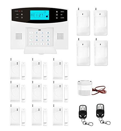 ERAY M2B GSM Alarme Maison sans Fil Système d'alarme Anti Intrusion...