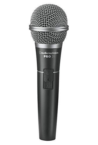 Audio-Technica PRO31QTR - Micrófono dinámico cardioide, color negro