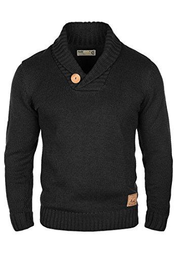 SOLID Paddy - Maglione da Uomo, taglia:L;colore:Black (9000)