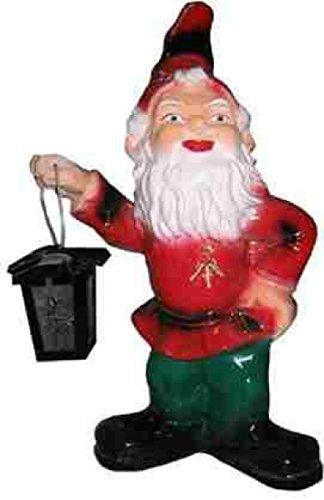 Lebensgroße Figuren Shop Gartenzwerg - Figur mit Laterne - Gartenzwerge - GZ088