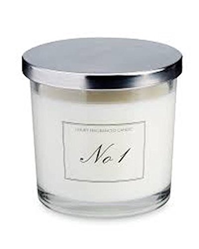 Keine 12Docht Kerze lime Basilikum & Mandarine in Glas mit Deckel 300g - Mandarine-basilikum