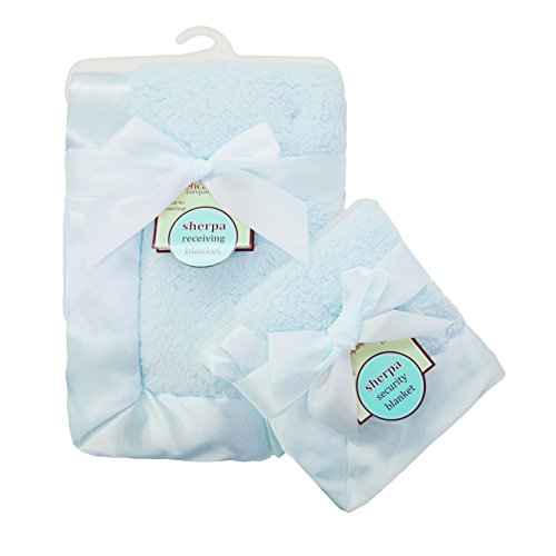 american-baby-company-ultra-soft-and-cuddly-sherpa-blanket-set-blue
