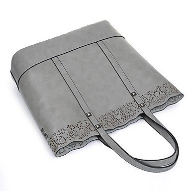 Womens Fashion Classic Crossbody Bag,caffè Gray