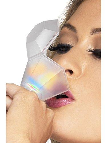 Smiffys, Damen Junggesellinnenabschied Schnapsglas Ring, Bunt leuchtend, One Size, 33527