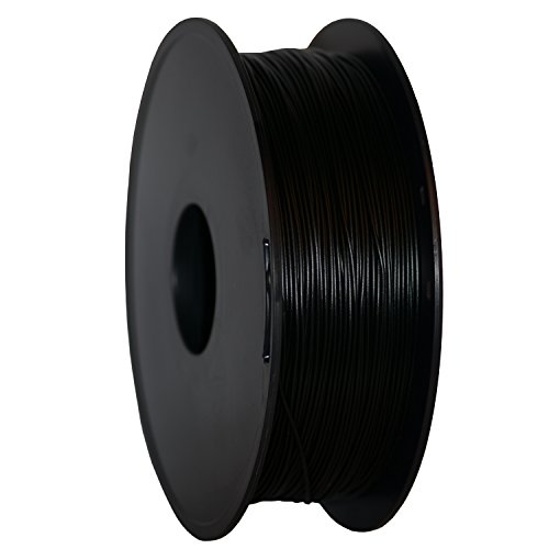 Geeetech® 3D Filament PLA, 3D PLA Filament 1.75mm 1KG, High Quality Reliable 3D Printing Filament For 3D Printer, Color: Black