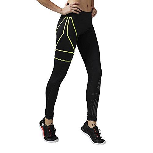 Reebok Pantalon de survêtement One Series Collants de Course pour Femme, Noir Noir - noir