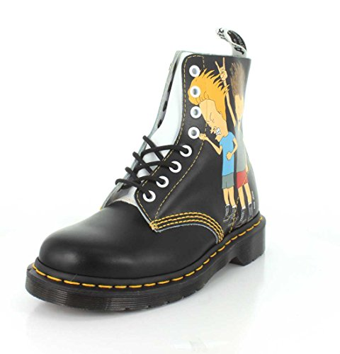 Dr. Martens Pascal Beavis & Butthead Smooth Backhand Black White Black