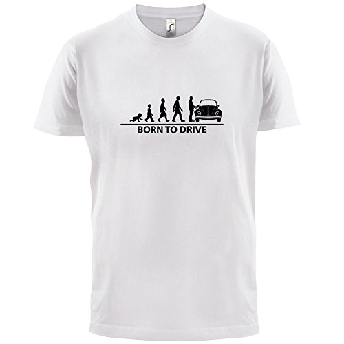 Born To Drive (Beetle) - Herren T-Shirt - 13 Farben Weiß