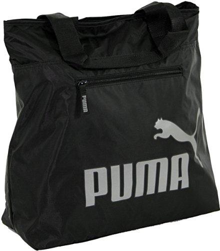 PUMA Handtasche PUMA Core Shopper black-aged silver