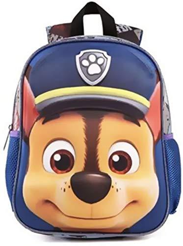 PAW Patrol Rucksack Kinderrucksack mit Maske und 3D Effekt für Sport, Kindergarten und Schule