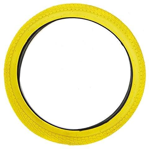 COYOTE BMX Reifen - 2,0 x 1,95, Gelb, Einheitsgröße