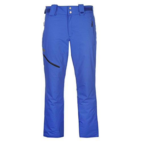 Descente Herren D7 8129 Ski Hose Winter Schneehose Wasserdicht Atmungsaktiv Blau Extra Lge