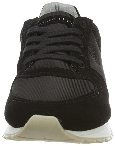 Marc O'Polo Damen 70113893502603 Sneaker Schwarz (Black)