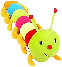 ATC TOYS Colorful Caterpillar Soft Toy (55Cm)