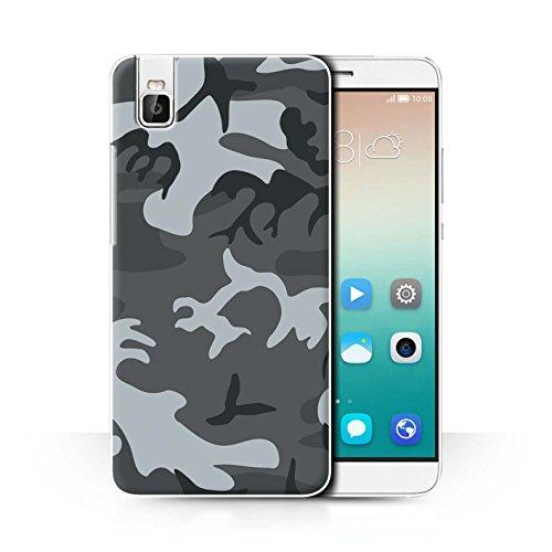Stuff4® Hülle/Case für Huawei Honor 7i/ShotX/Winternachtssoldat Muster/Militär Camouflage Tarnung Kollektion