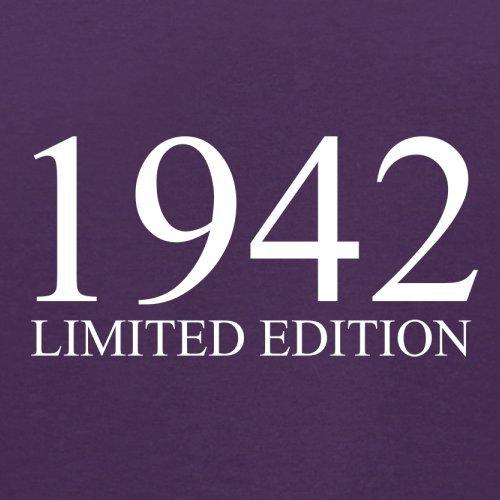 1942 Limierte Auflage / Limited Edition - 75. Geburtstag - Herren T-Shirt - 13 Farben Lila