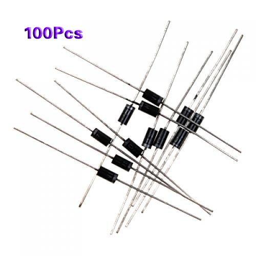 100x IN4007 DO-41 Gleichrichter Diode 1A 1000V 1a Diode