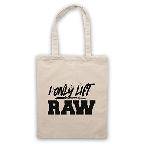 I Only Lift Raw Bodybuilding Culture Slogan Umhangetaschen Naturlich